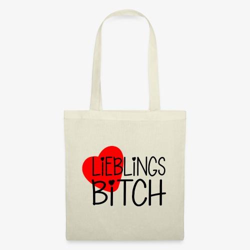 Lieblings-Bitch Geschenkidee Valentinstag - Stoffbeutel