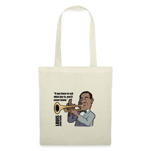 Louis Armstrong - Tote Bag