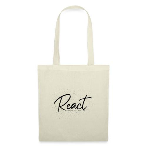 React - Bolsa de tela
