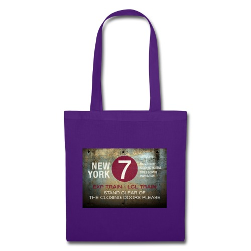 NYC subway stand clear of the closing doors please - Tote Bag