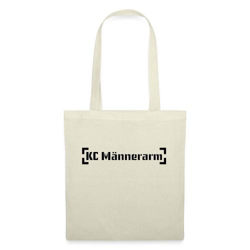 KC Maennerarm Letter - Stoffbeutel