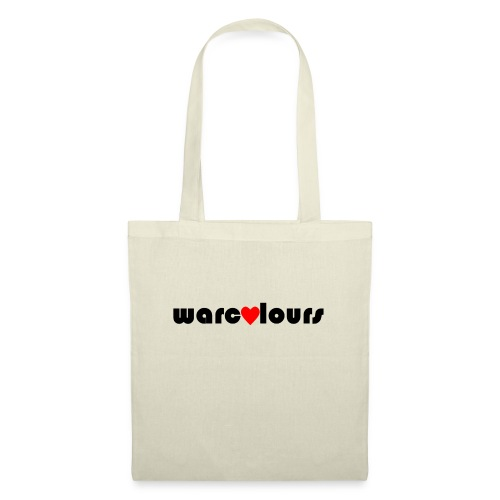 love warcolours black - Tote Bag