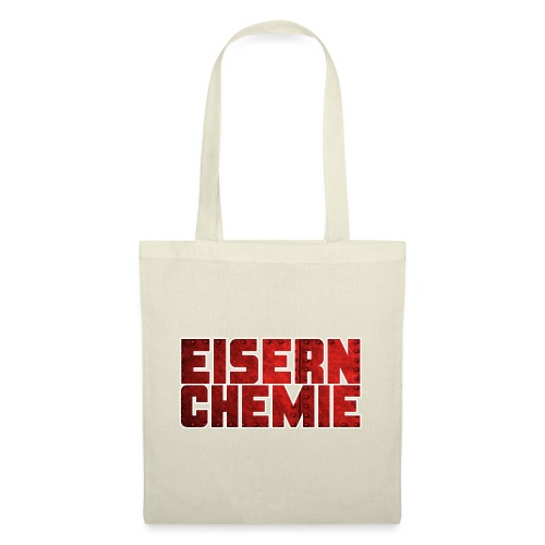 Eiserner Chemie Script Metalloptik - Stoffbeutel
