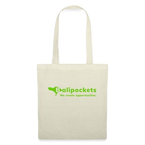 Balipockets Logo - Stoffbeutel