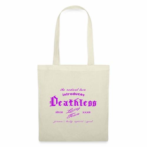 deathless living team violet - Stoffbeutel