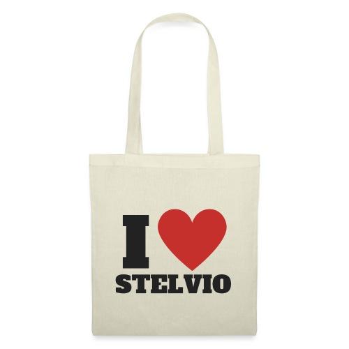 I LOVE STELVIO - Borsa di stoffa