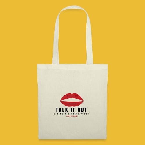 Mental Health Awareness (Talk It Out) - Tote Bag