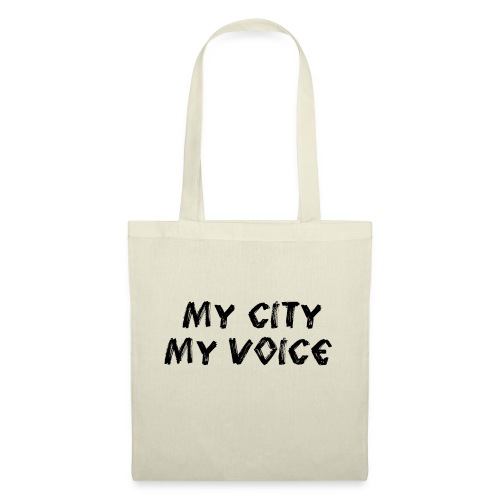 My City My Voice 1 black - Tote Bag