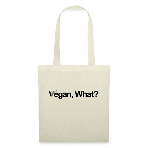 vegan what? - Sac en tissu