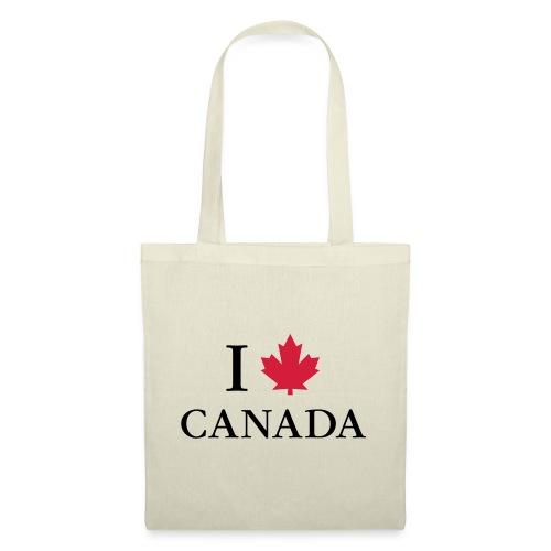 I love Canada Ahornblatt Kanada Vancouver Ottawa - Tote Bag