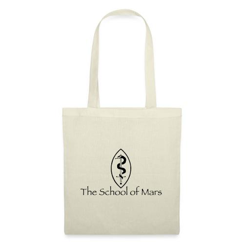 SoM Crest (Black) w/ Text - Tote Bag