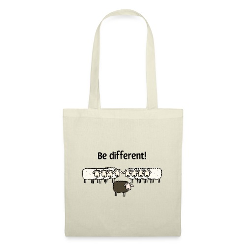 Be different - Stoffbeutel