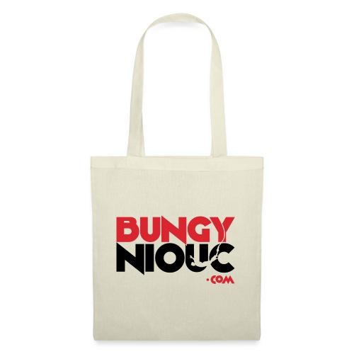 BungyNiouc Logo - Sac en tissu