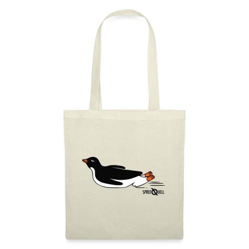 Spreequell Pinguin - Stoffbeutel