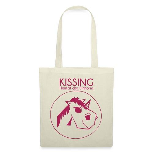 Kissing-Heimat des Einhorns - Tote Bag