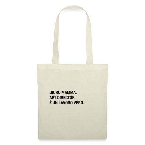 Giuro Mamma - art director - Borsa di stoffa