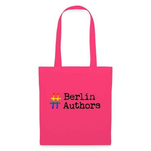 BerlinAuthors Logo Rainbow - Stoffbeutel