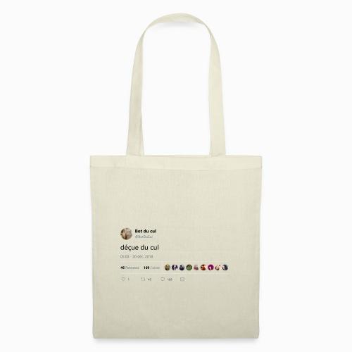 Tweet déçue du cul blanc - Tote Bag