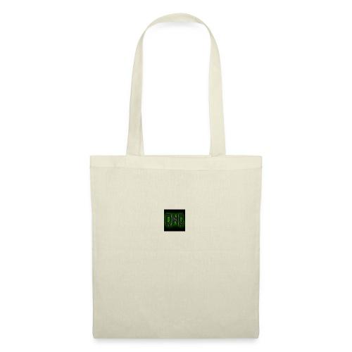 Wit baseball shirt Logo merk - Tas van stof