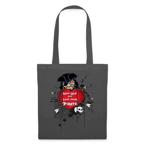 love your pirate - Borsa di stoffa