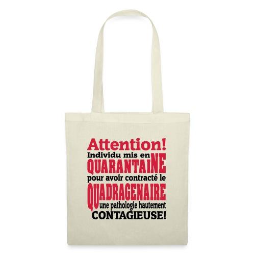 Motif logo design humour pour homme et femme - Tote Bag