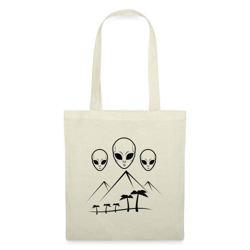 Pyramides & Extraterrestres - Sac en tissu