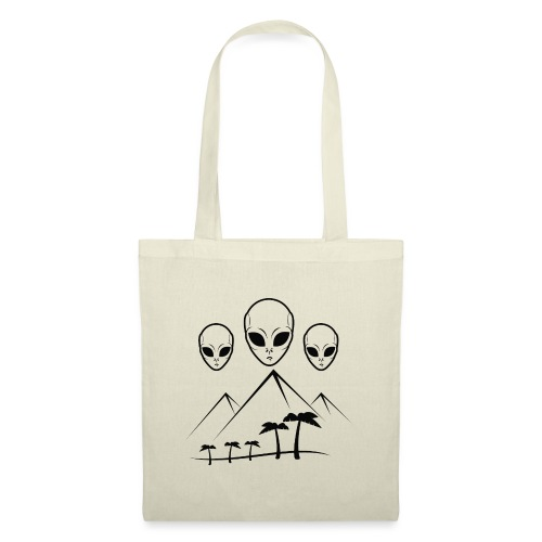Pyramides & Extraterrestres - Tote Bag