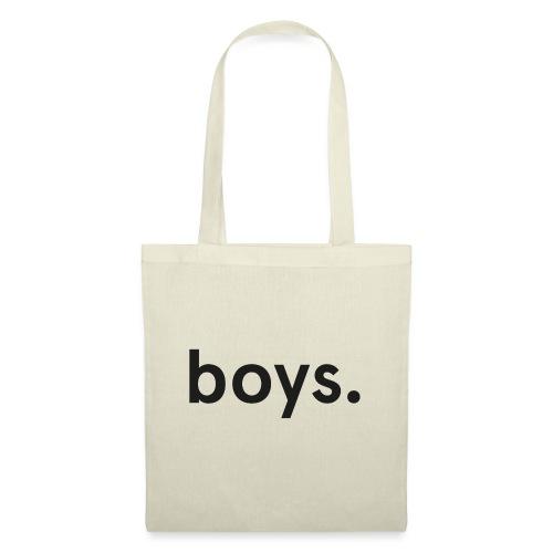 boys dot black - Tygväska