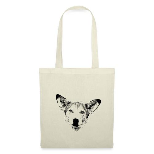 Podenco-Mischling / Hunde Design Geschenkidee - Stoffbeutel