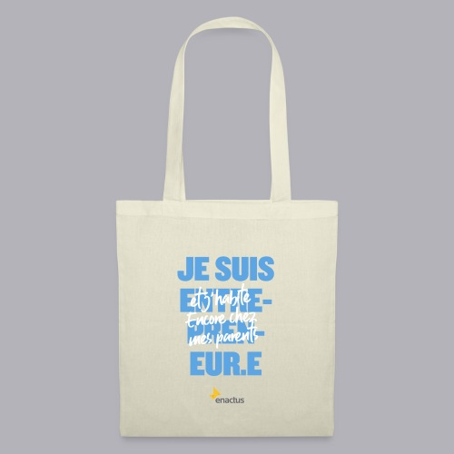 J'impacte le monde - Enactus France - Sac en tissu