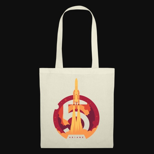 Ariane 5 - Lift off By Fugstrator - Tote Bag