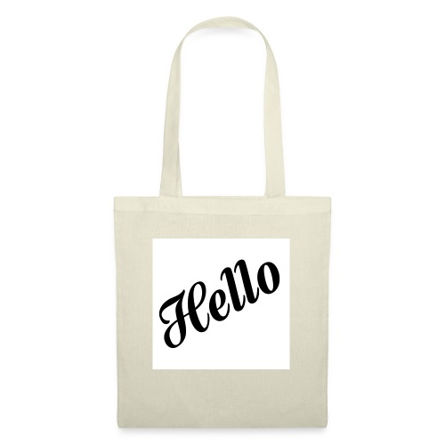 HELLO - Stoffbeutel