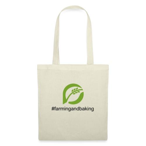 farmingandbaking_logogruen - Stoffbeutel