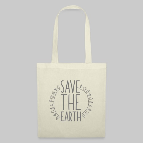 Safe the Earth - Stoffbeutel