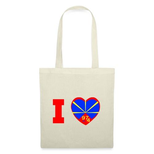 I love 974 - Lo Mahaveli - Tote Bag