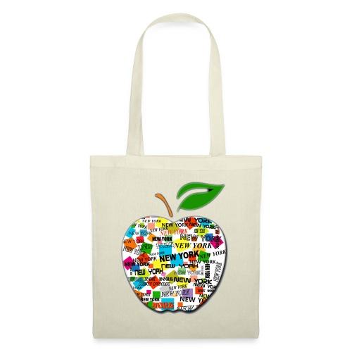 ny apple - Borsa di stoffa