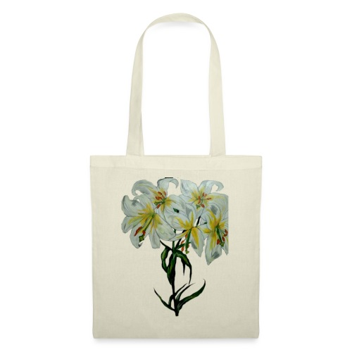 Lily painting - Tote Bag