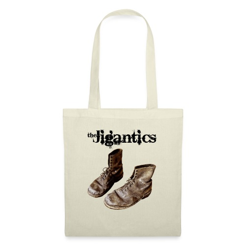 The Jigantics boot logo - black - Tote Bag