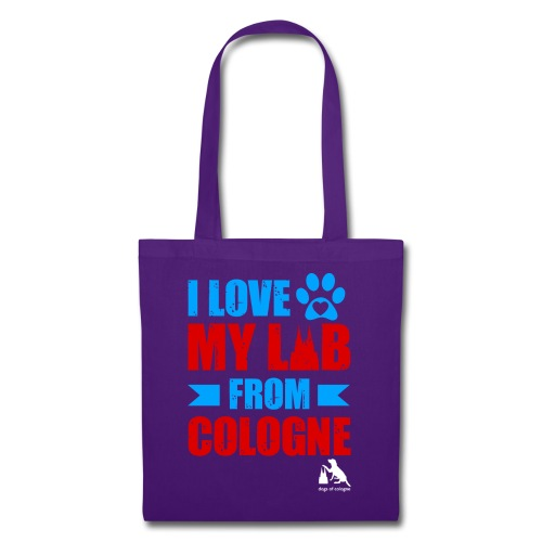 I love my LAB from COLOGNE! - Stoffbeutel