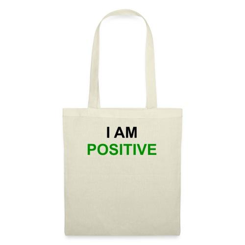 I am positive - Stoffbeutel