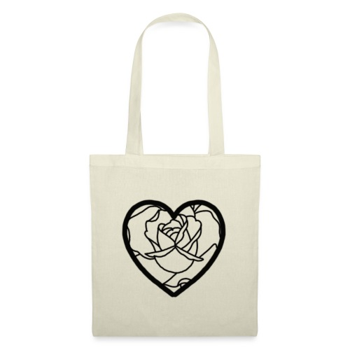 Heart of a rose - Tote Bag