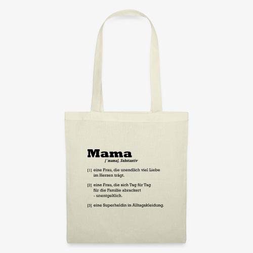 Mama Mutter - Stoffbeutel