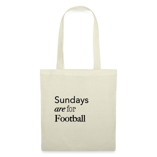 Sundays are for Football - Tas van stof