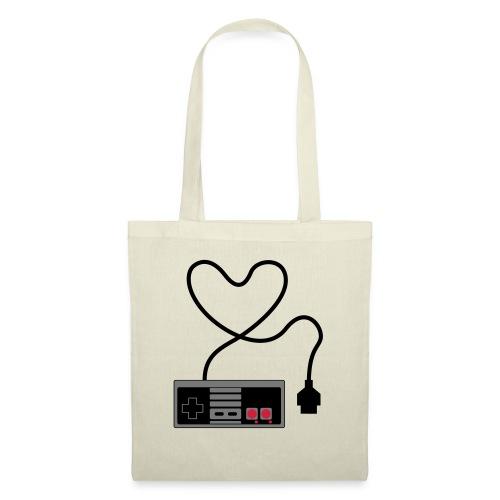 NES Controller Heart - Tote Bag