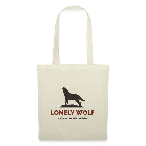 Lonely Wolf - Stoffbeutel
