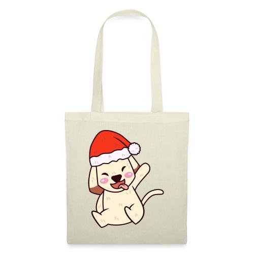 Baby Hund Weihnachten Santa Geschenk idee - Stoffbeutel
