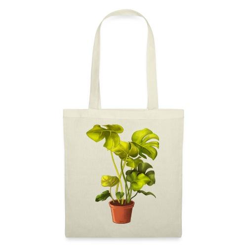 Monstera Plant Bag - Stoffbeutel