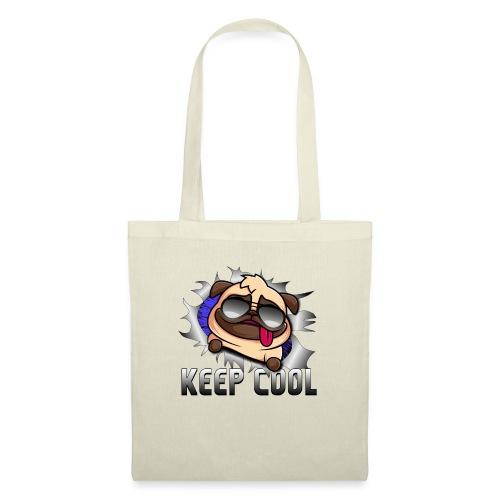 Keep Cool Hund Geschenk - Stoffbeutel