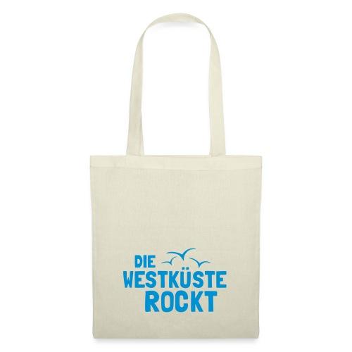 Die Westkueste Rockt - Stoffbeutel