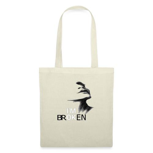 femme brisée - Tote Bag